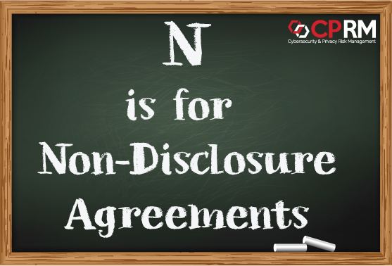 n is for Non-Disclosure agreements